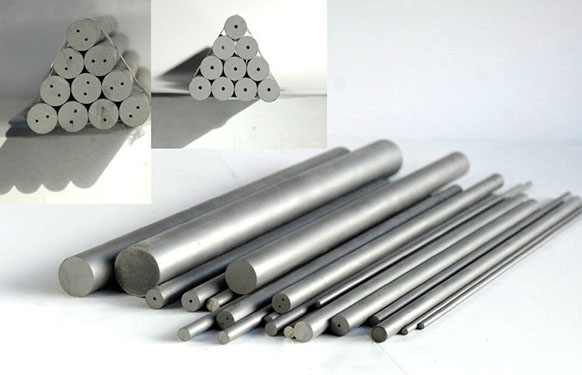 Cemented Carbide Rod with straight hole