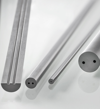 Solid Carbide Rod with straight holes