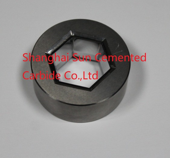 Carbide hexagonal mold